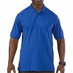 Academy Blue Professional Polo S/S