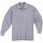 Heather Grey Professional L/S Polo