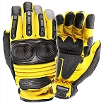 Yellow Extrication and Rescue Gloves