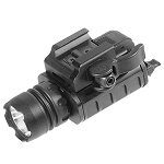 400 Lumen Compact LED Weapon Light with QD Lever Lock