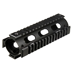 Model 4/AR15 Car Length Drop-in Quad Rail, Black