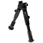 Shooter's SWAT Bipod, Rubber Feet, Height 6.2