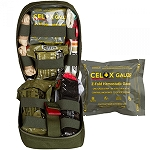 OD Green Tactical Operator Response KIT (TORK) with Celox Gauze