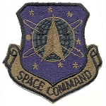 Space Command Patch - Subdued