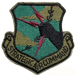 Strategic Air Command Patch - Subdued