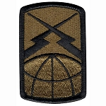 160th Signal Brigade Patch - Subdued