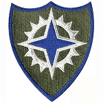 16th Army Corps Patch - Subdued