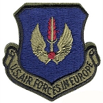 USAF In Europe Patch - Subdued