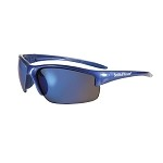 Smith & Wesson Equalizer Safety Eyewear Blue Frame/Blue Mirror Lens