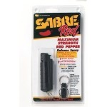 Sabre Red Pepper Defense Spray with Black Hard Case