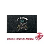 USMC Mess With The Best/Die Like The Rest 3'x5' Flag