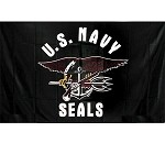US Navy Seals 3'x5' Flag