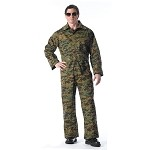 Woodland Digital Camo Unlined Coverall
