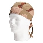 Cotton Camo Headwraps