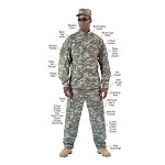 ACU Digital Combat Uniform Shirt (SM-XL)