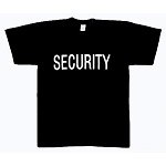 Security 2-Sided T-Shirts
