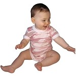 Infant Camo 1-Piece Bodysuits