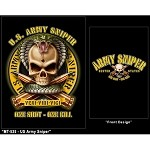 US Army Sniper Military Graphic Tee