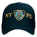 Officially Licensed NYPD Adjustable Cap Black