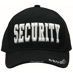 Deluxe Low Profile Insignia Cap - SECURITY