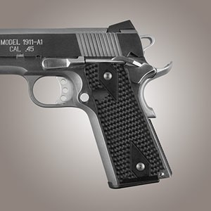 "1911 Govt. G10 9/32"" Piranha Solid Black"