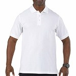 White Professional Polo S/S