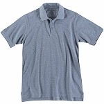 Heather Grey Professional Polo S/S