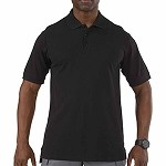 Black Professional Polo S/S