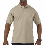 Silver Tan Professional Polo S/S