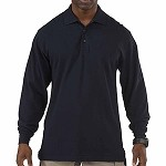 Dark Navy Professional L/S Polo