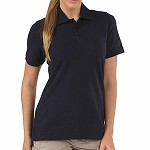Dark Navy Womens Professional S/S Polo