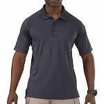 Charcoal Short Sleeve Performance Polo