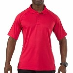 Range Red Short Sleeve Performance Polo