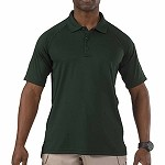LE Green Short Sleeve Performance Polo