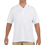 White Tactical S/S Jersey Polo