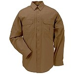 Battle Brown Taclite Pro L/S Shirt