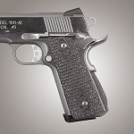 1911 Govt. G10 Magrip Piranha Arched G-Mascus Black/Gray