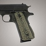 1911 Govt. G10 Magrip Piranha Arched G-Mascus Green