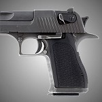 Desert Eagle G10 Checkered Solid Black