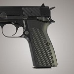 Browning Hi-Power G10 Piranha Solid Black