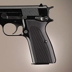 Browning Hi-Power Alum Checkered Matte Black