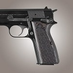 Browning Hi-Power G10 Checkered G-Mascus Black/Gray