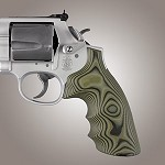 S&W K&L G10 Round Butt Conversion Smooth G-Mascus Green