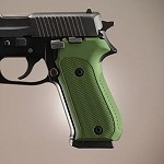 SIG Sauer P220 American Checkered Alum Matte Green