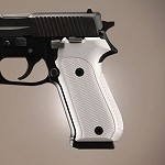 SIG Sauer P220 American Checkered Alum Brushed Gloss Clear