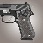 SIG Sauer P220 American G10 Checkered G-Mascus Black/Gray