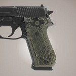 SIG Sauer P220 American G10 Checkered G-Mascus Green