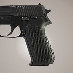 SIG Sauer P220 American G10 Checkered Solid Black