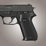 SIG Sauer P220 European Checkered G10 Solid Black