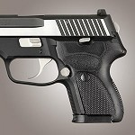 SIG Sauer P224 DAK G10 Checkered Solid Black